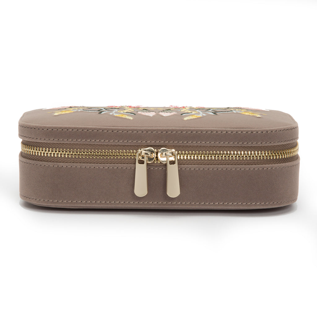 Wolf Jewelry Case Zoe Travel Zip