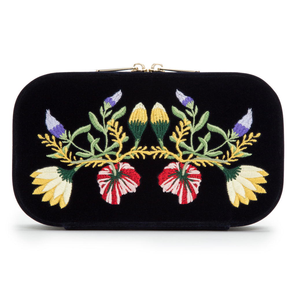 Zoe Travel Jewelry Case