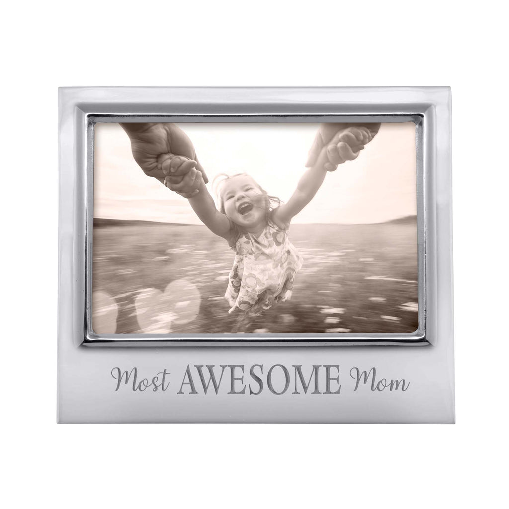 Mariposa Most Awesome Mom Frame 4 x 6