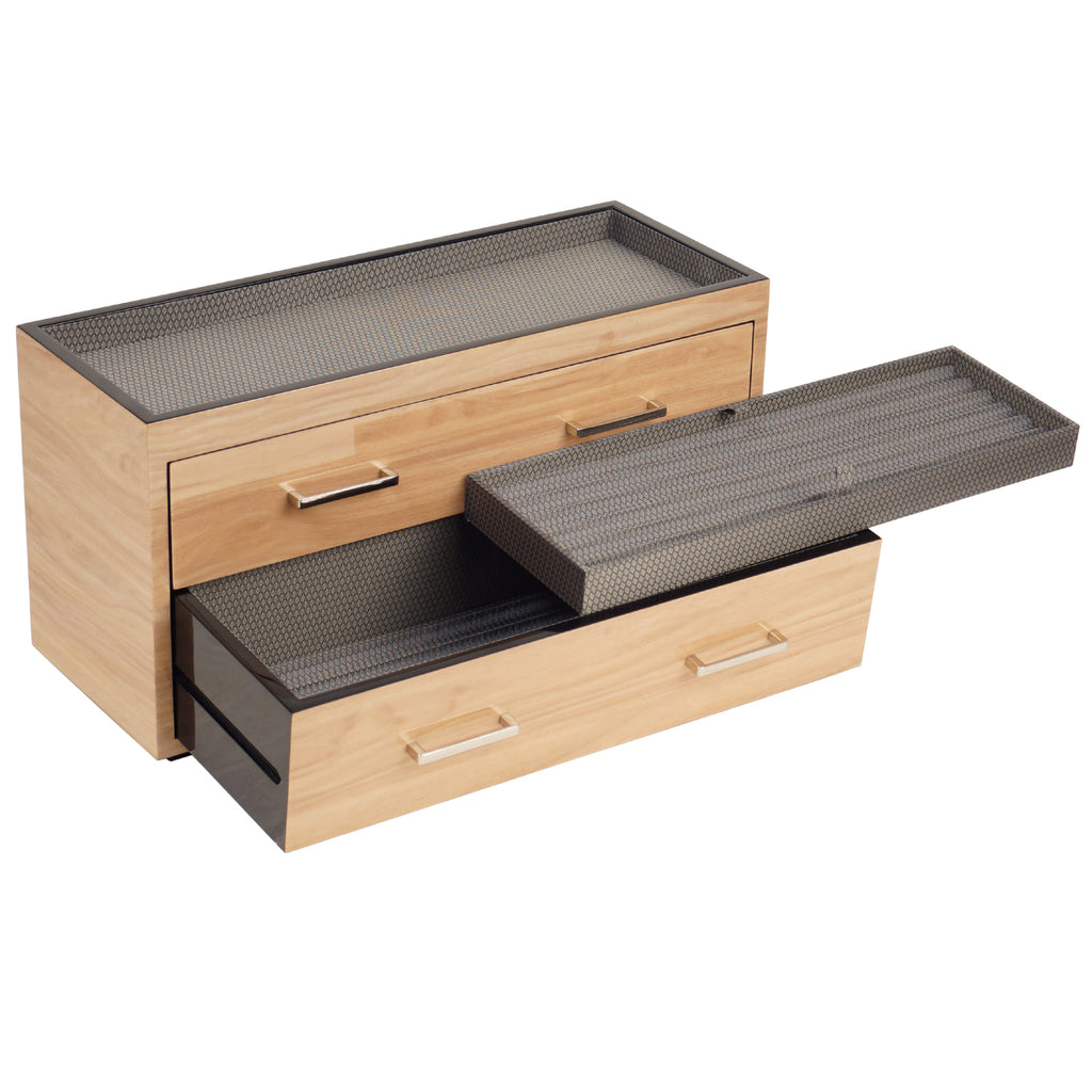 Meridian Two-Drawer Valet