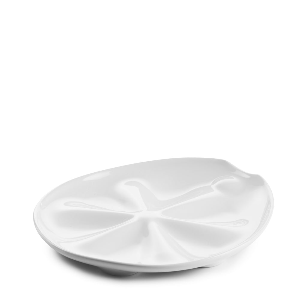 Revol Oyster Plate, White