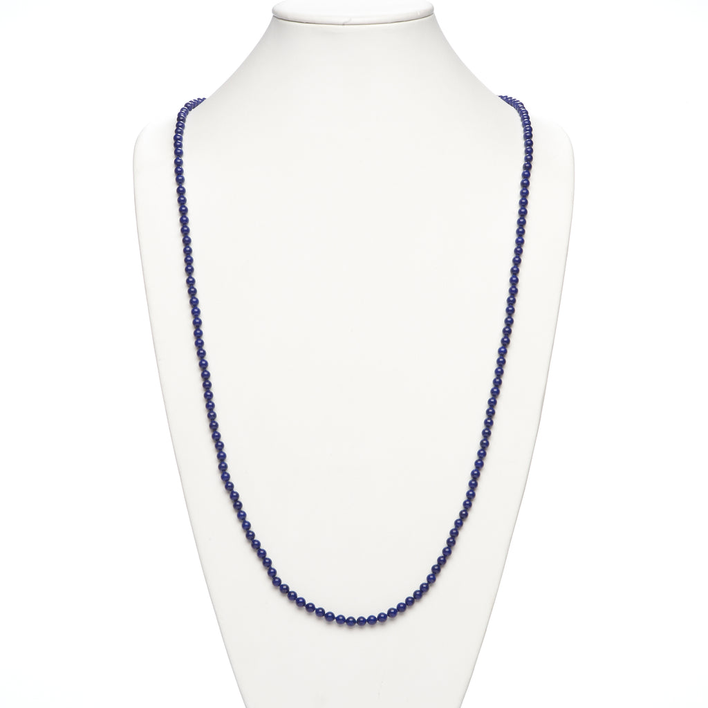 Lapis Rope Necklace