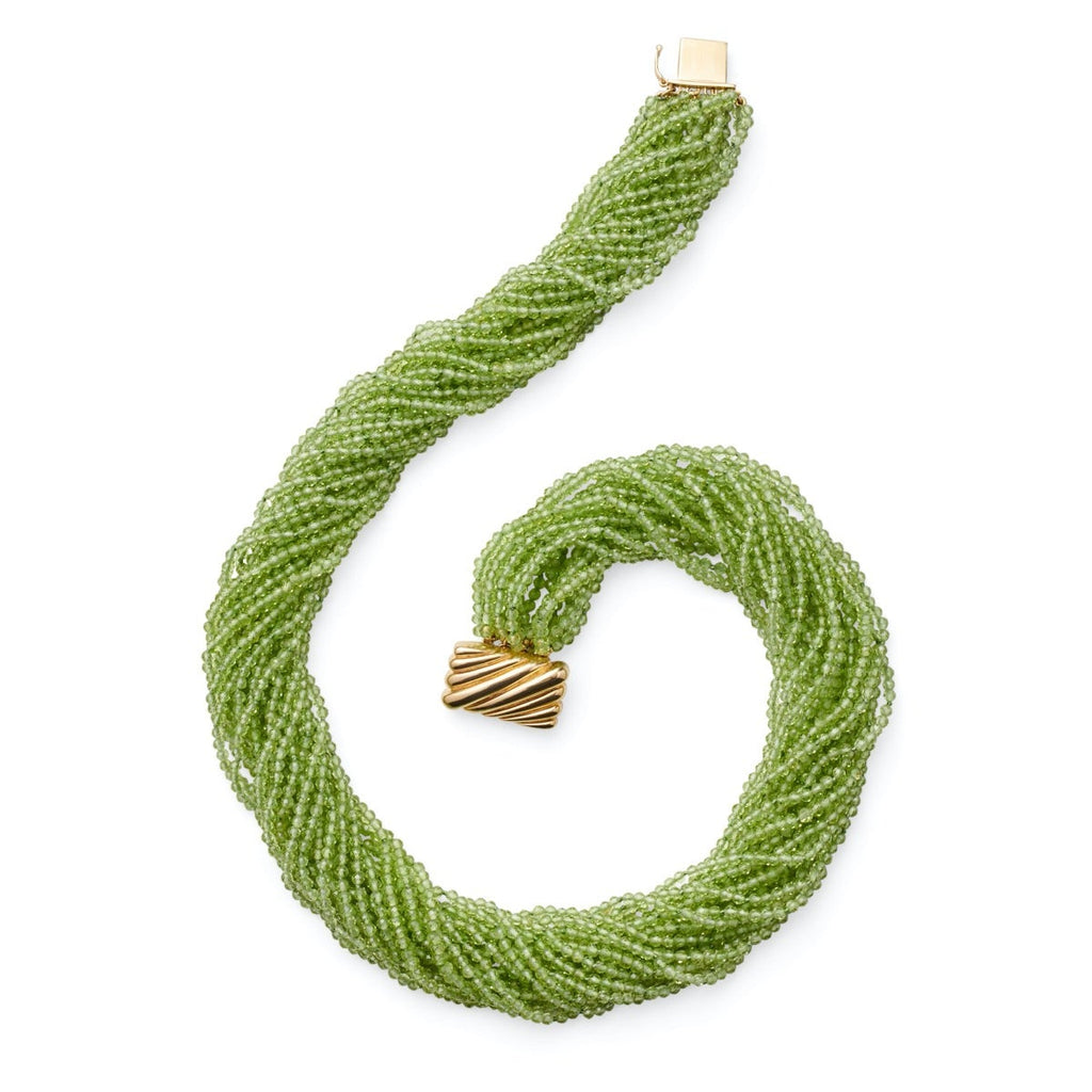 Peridot Multi-Strand Necklace