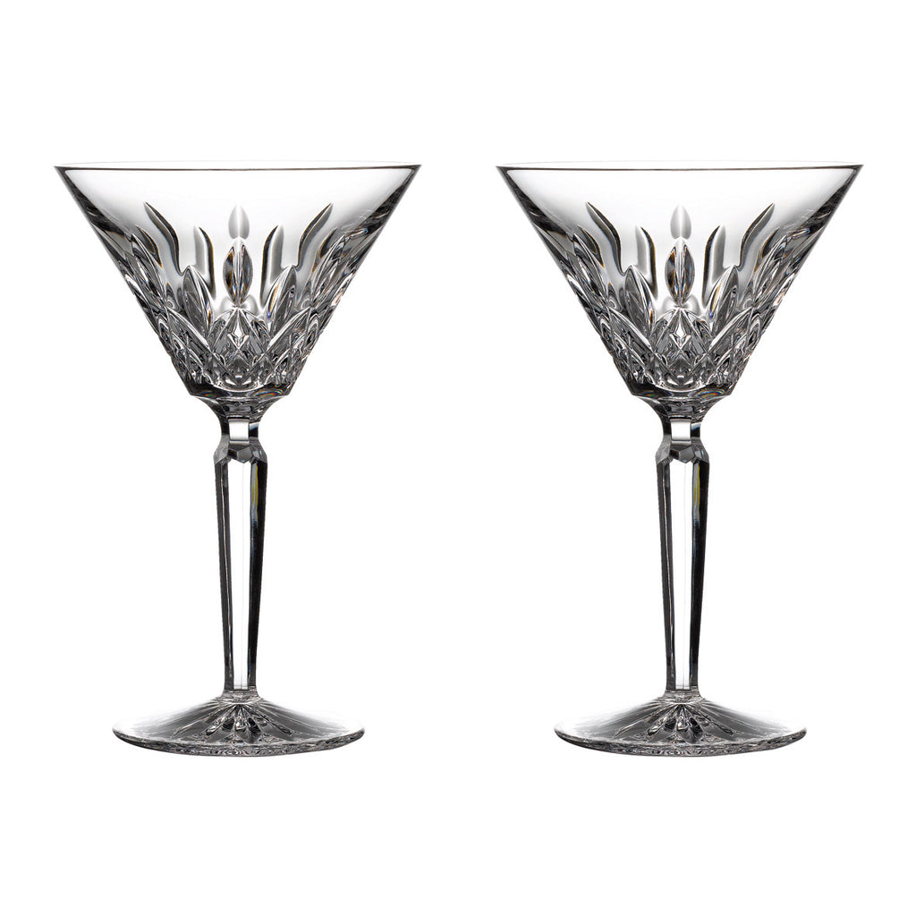 Lismore Martini Glasses, Set of 2