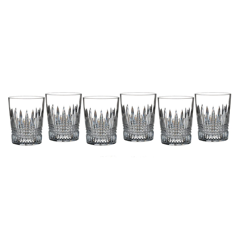 Waterford Lismore Diamond DOF Glasses, Set of 6
