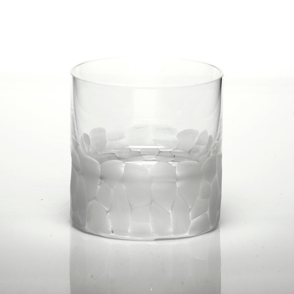 Moser Pebbles Single Old Fashioned Glasses Clear