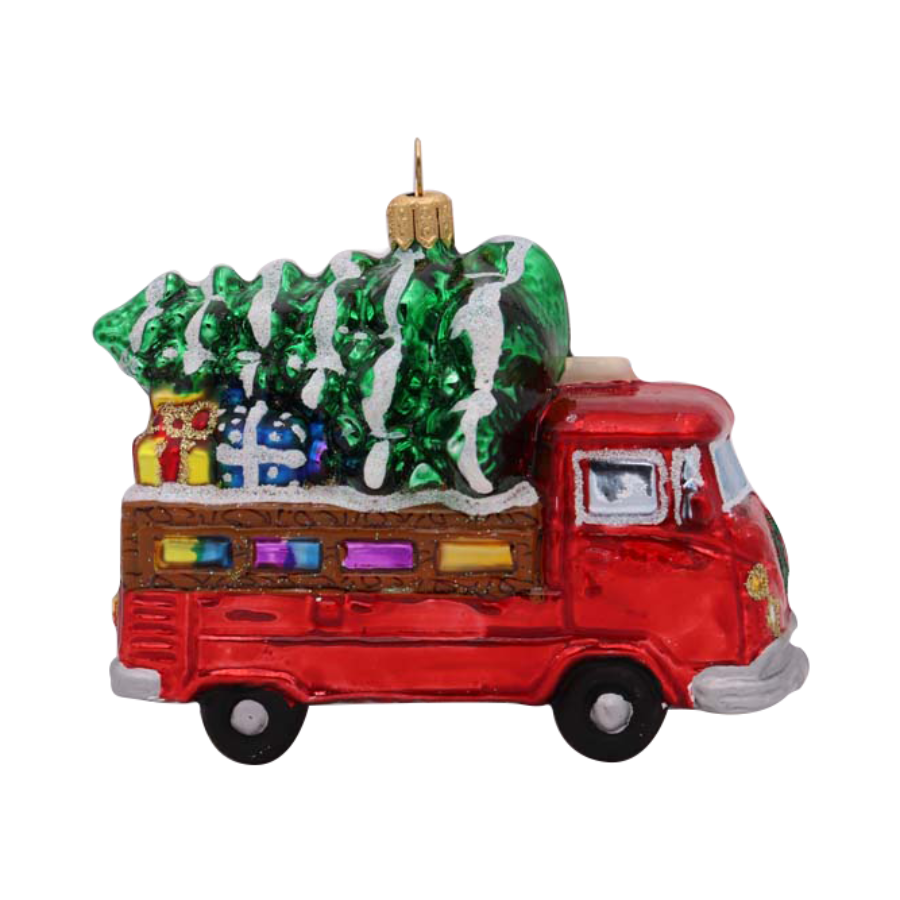 Christmas Truck Ornament