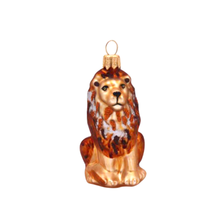 Mini Lion Ornament