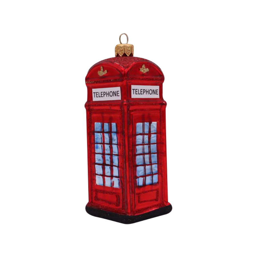 Telephone Booth Ornament