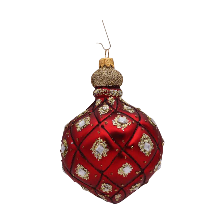Red Drop Ornament