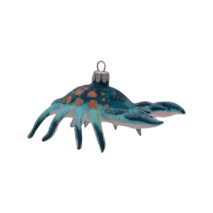 Blue Hermit Crab Ornament