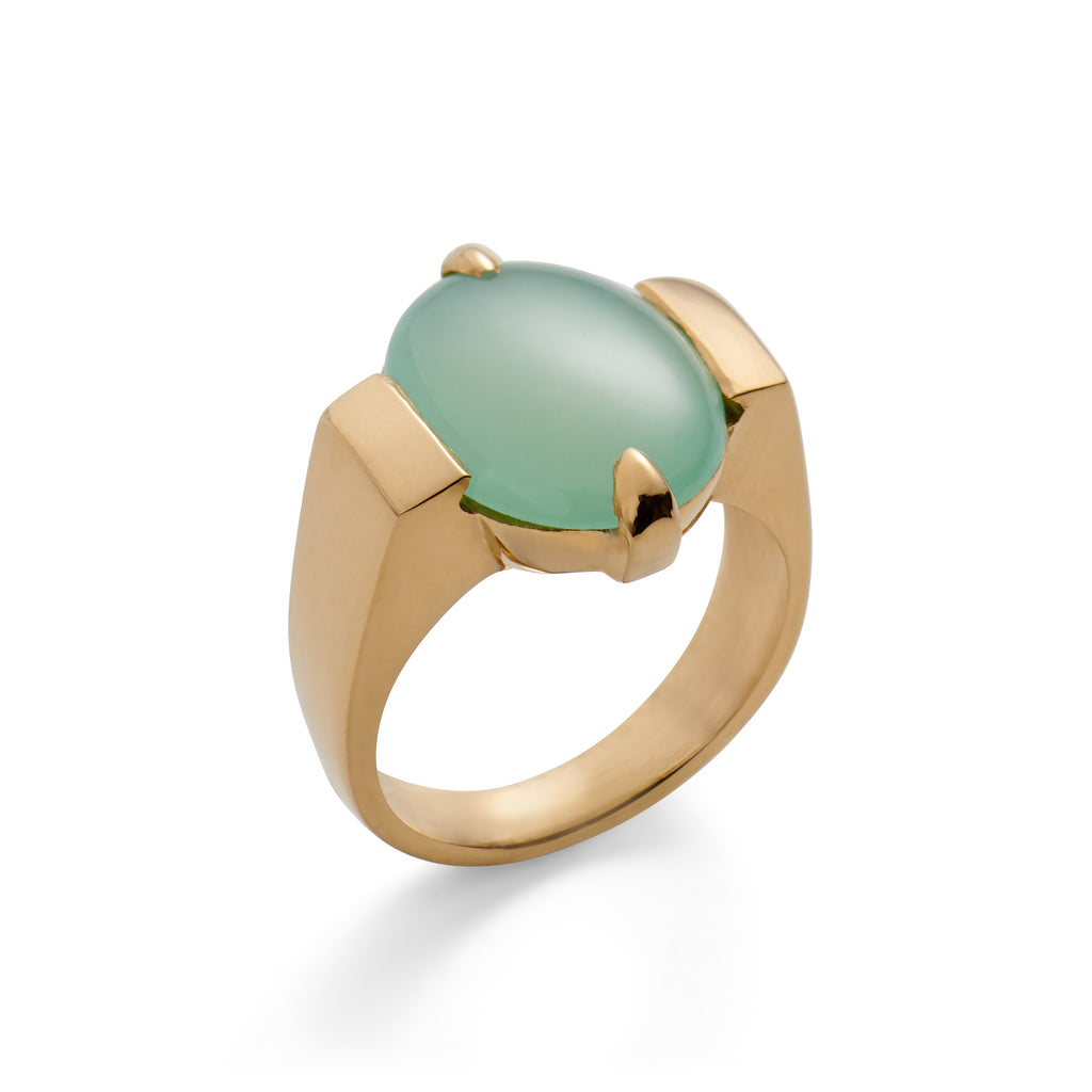 Translucent Jade Ring