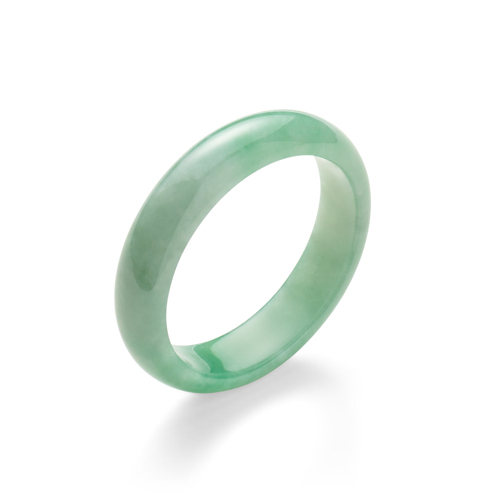 Translucent Jade Bangle