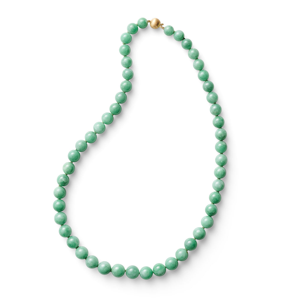 Apple Green Jade Necklace