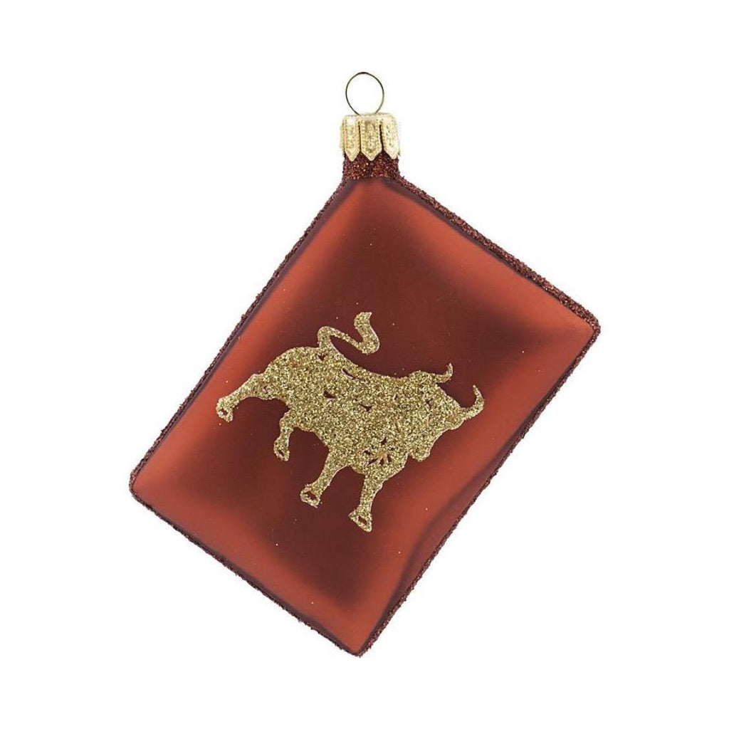 Year of the Ox Red Envelope Ornament