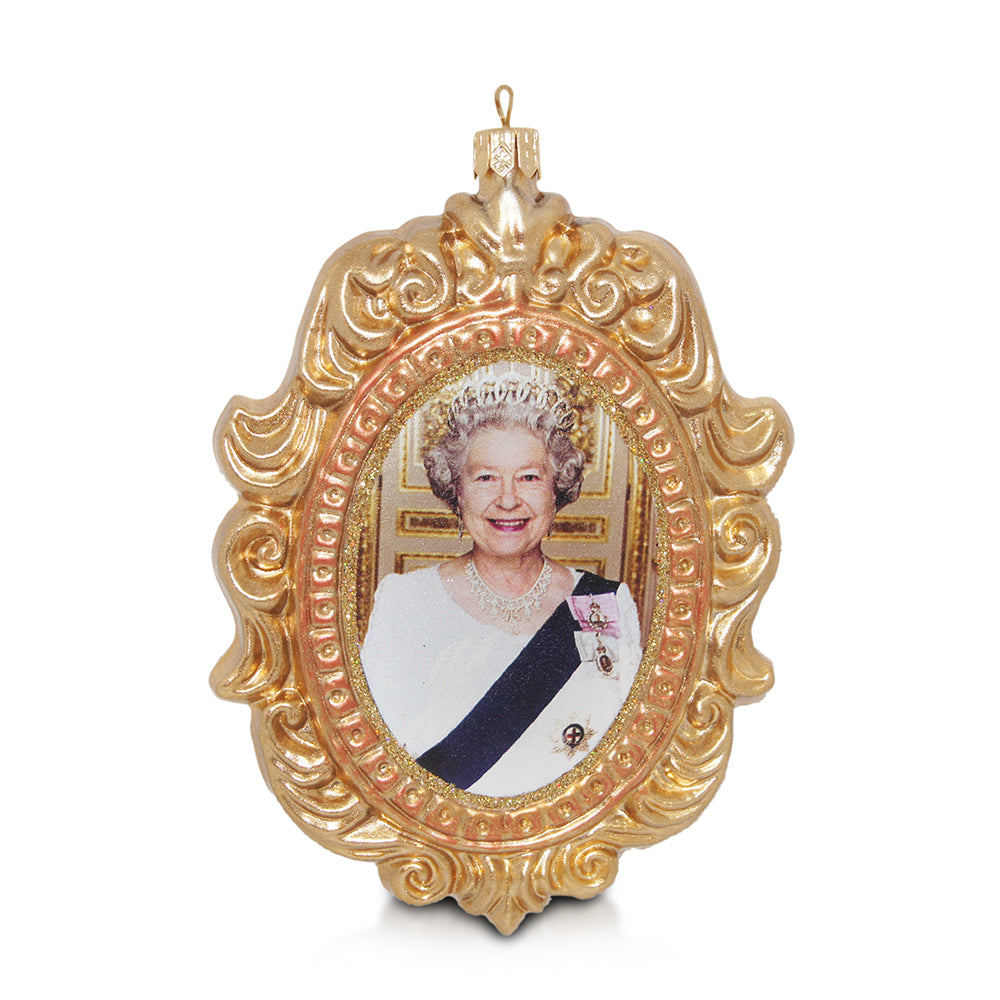 Queen Elizabeth II Cameo Ornament