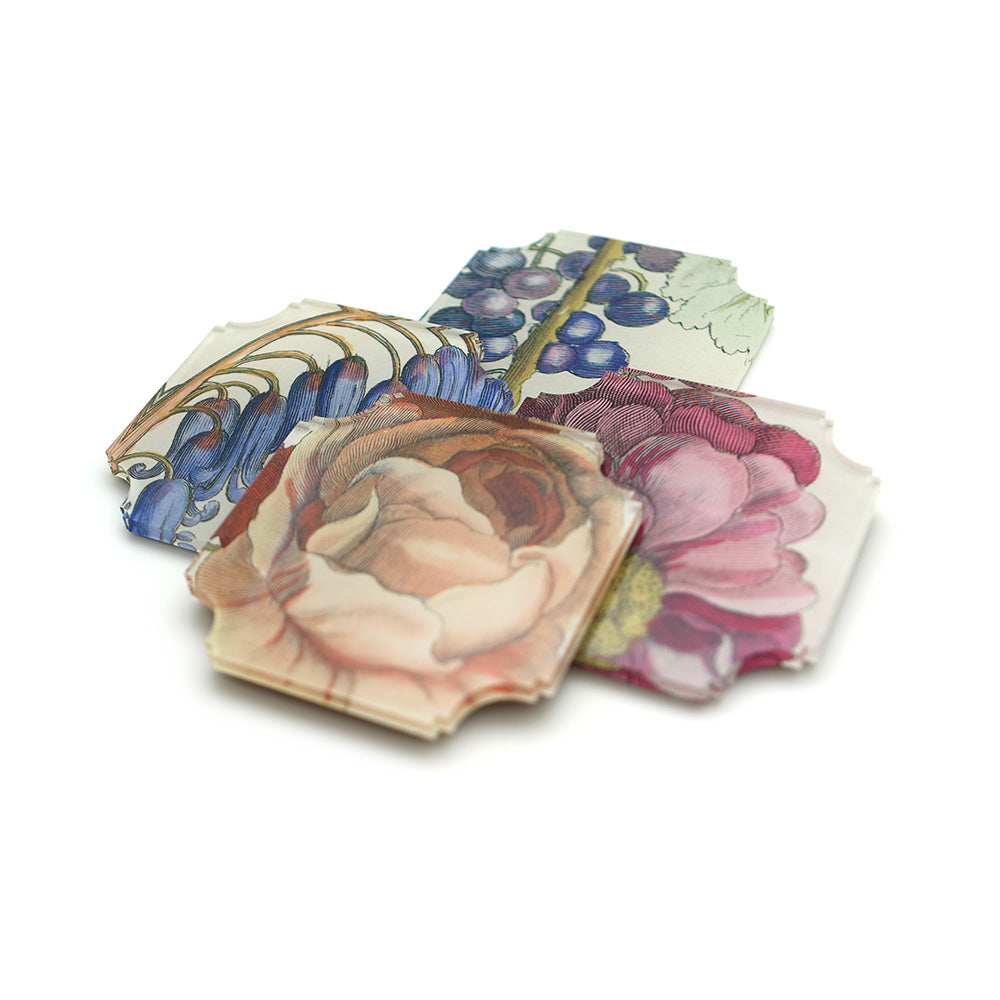 Hollar Floral Coasters, Set of 4