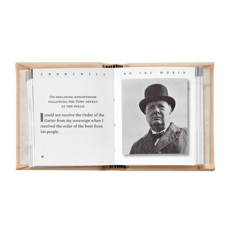 'The Quotable Winston Churchill' Book