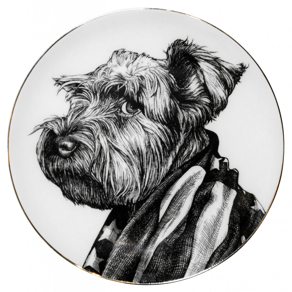 Buddy Close-Up Dinner Plate