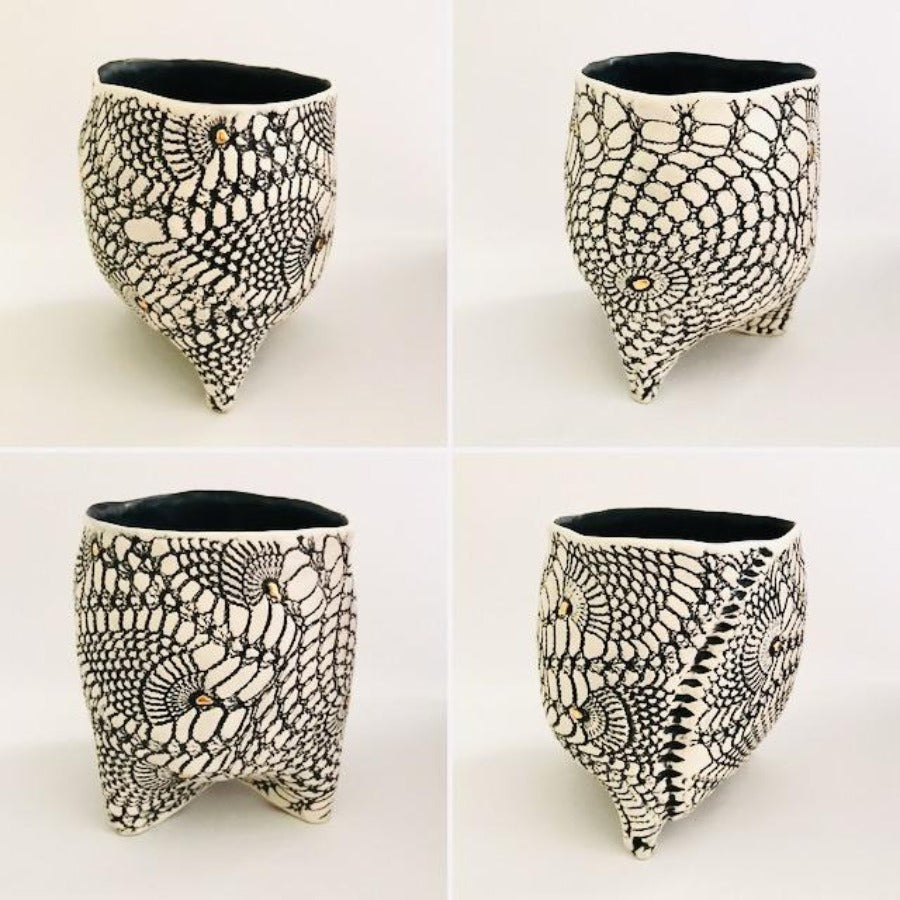 Textured French Lace Vessel #2