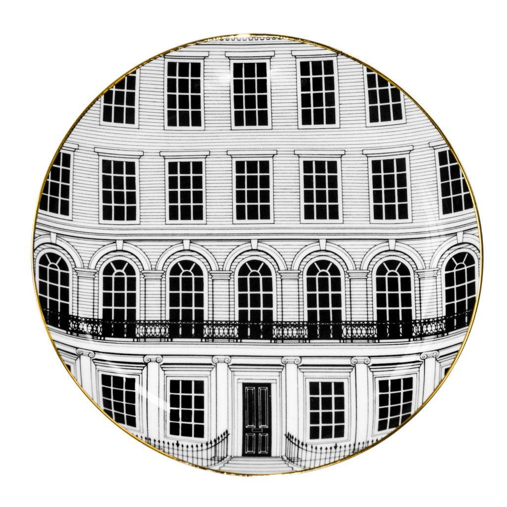 Beautiful Buildings Canape Plate