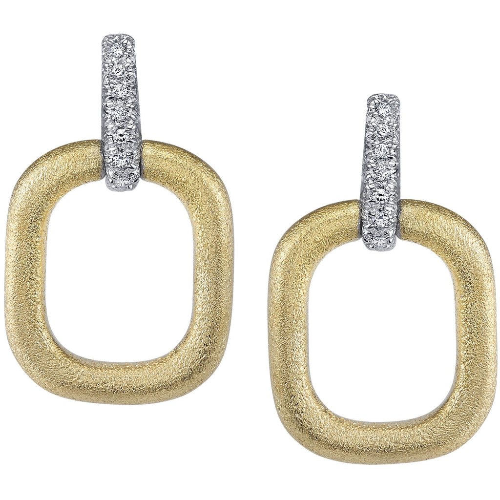 Aaron Henry Small Square Hoop Earrings