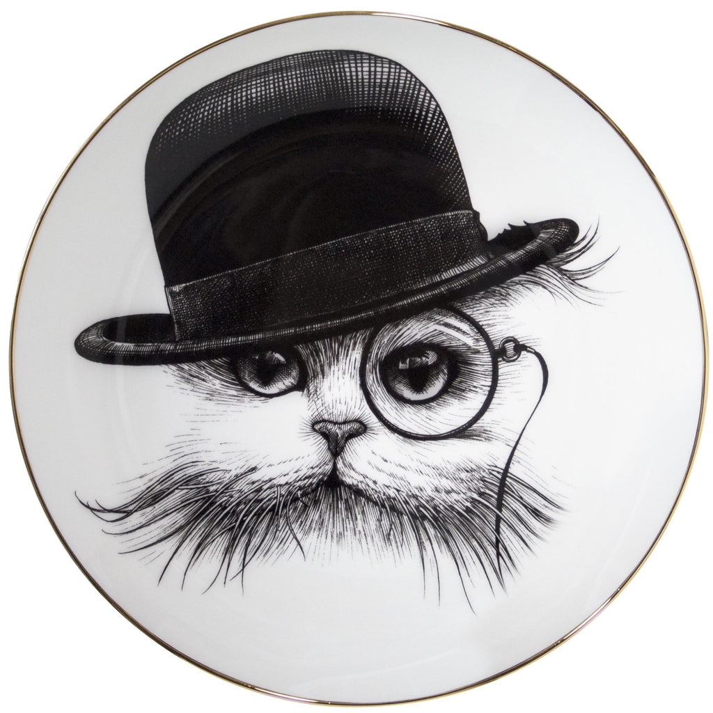 Cat in Hat Tilt Dinner Plate