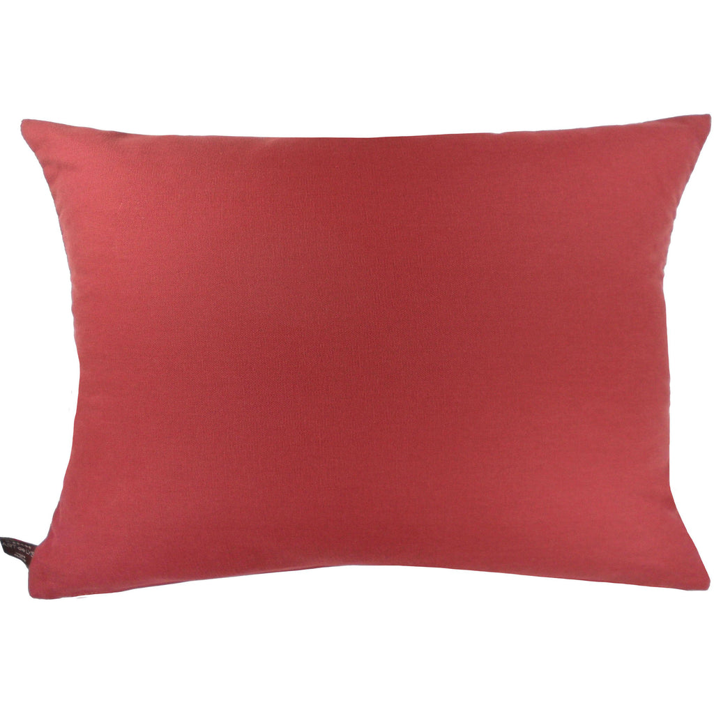 Giverny Iris Lumbar Pillow