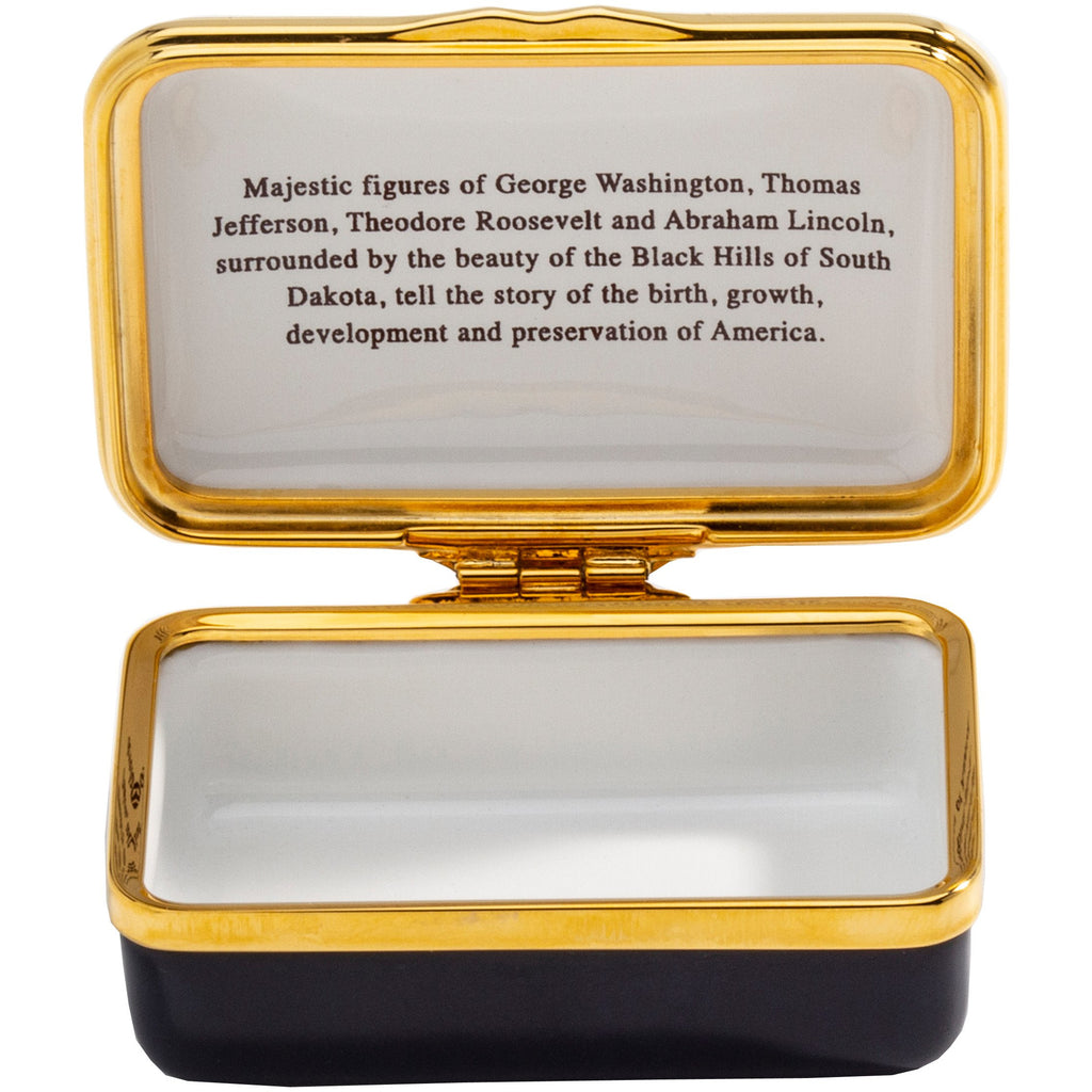 'Mount Rushmore' Enamel Box