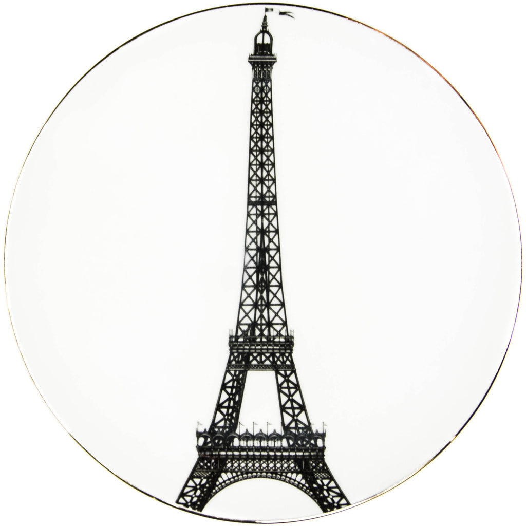 Eiffel Tower Dinner Plate