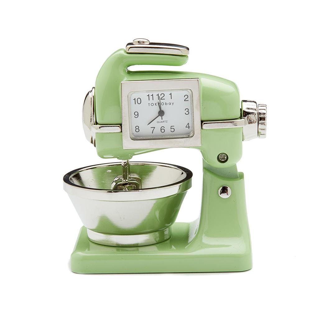 Mixer Clock Light Green