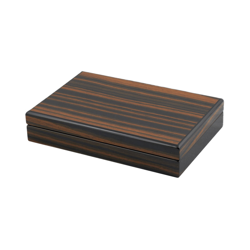Ebony Stripe Card Box
