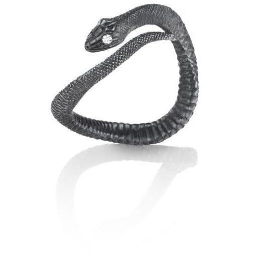 Oxidized Serpent Ring
