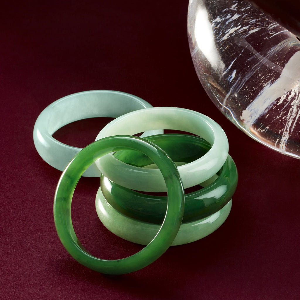 Light Green Jade Bangle