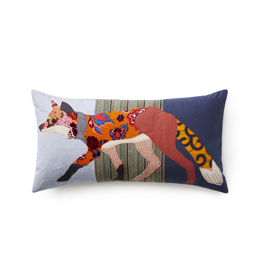 Woodland Fox Pillow