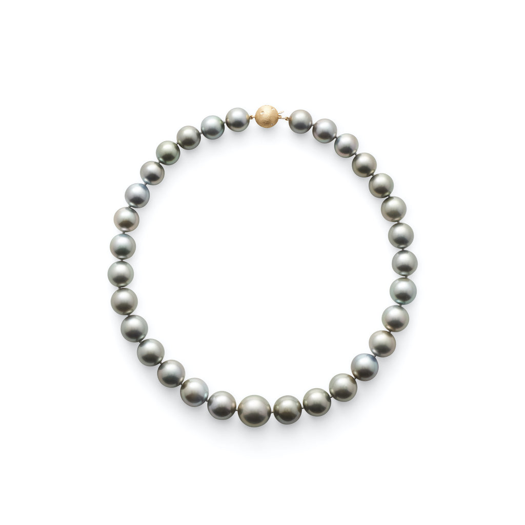 Graduated Tahitian Pearl Necklace