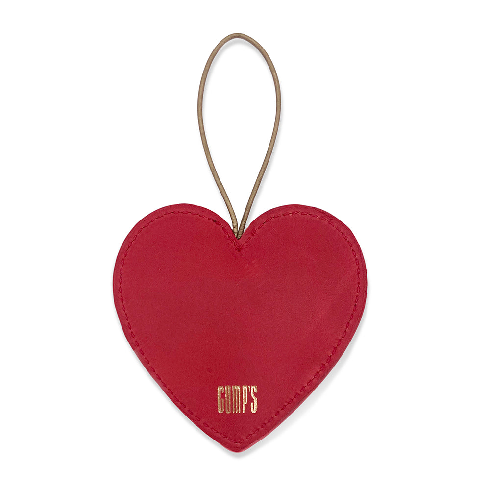 Heart with Golden Gate Bridge Ornament
