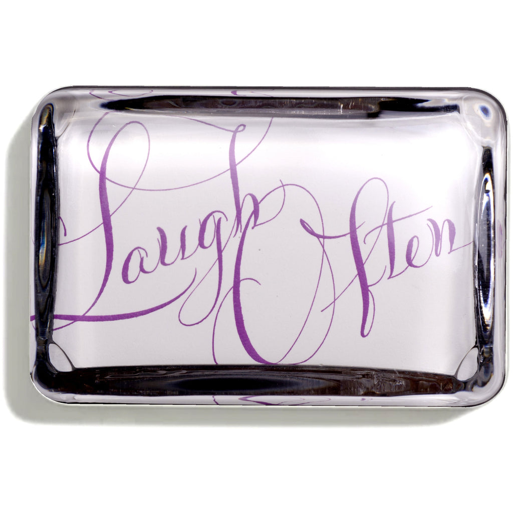 'Laugh Often' Paperweight