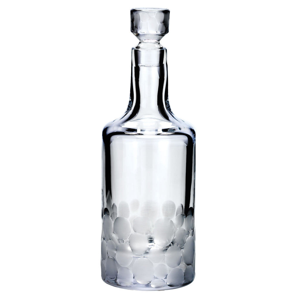 Pebbles Decanter, Clear