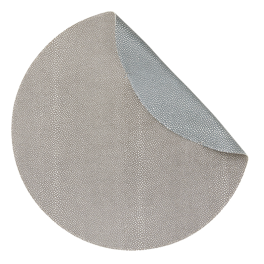 Pera Blue-Gray Placemats, Set of 4