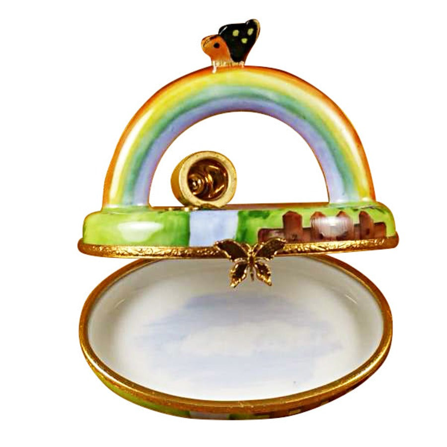Pot of Gold Rainbow Limoges