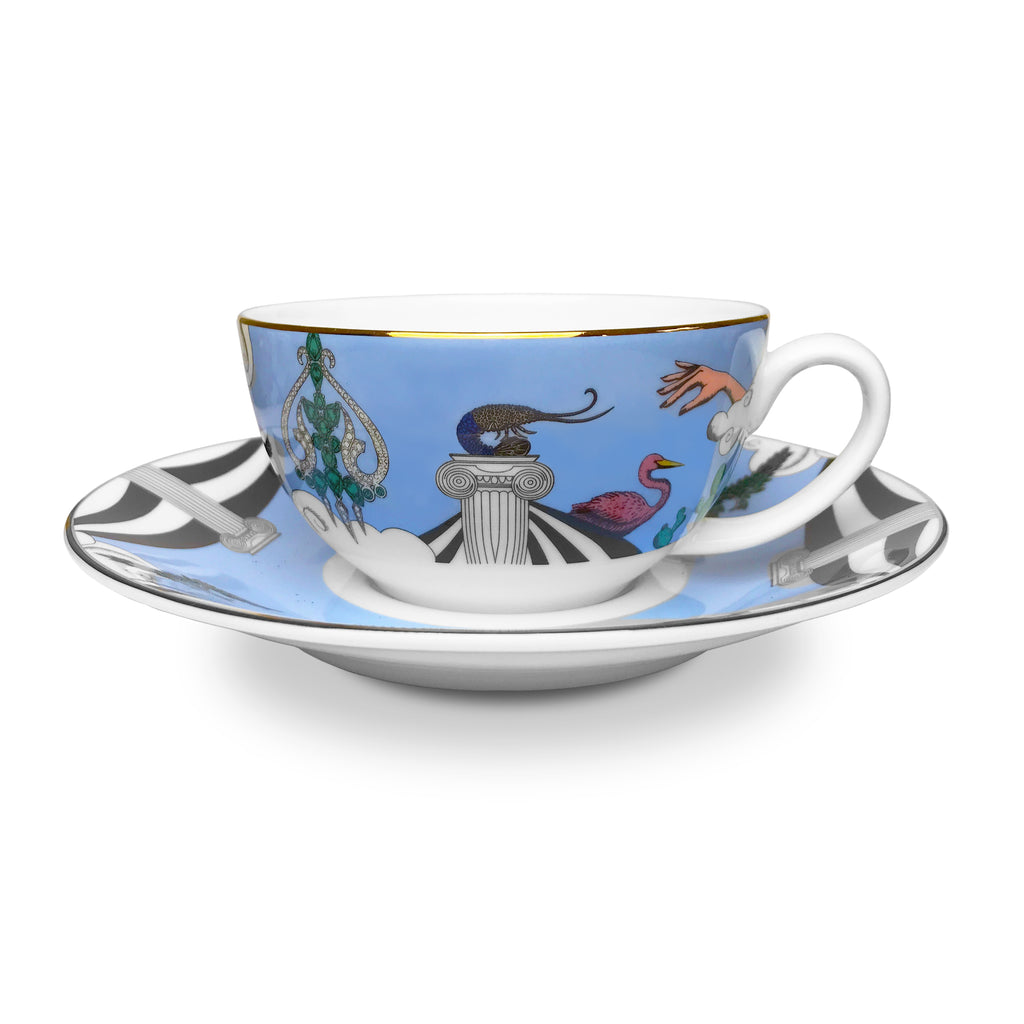Diamonds of Paradise Coffee Cup & Saucer