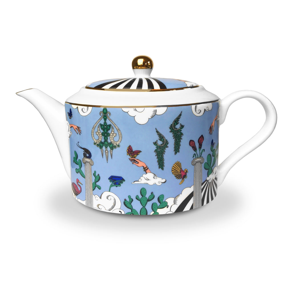 Diamonds of Paradise Teapot