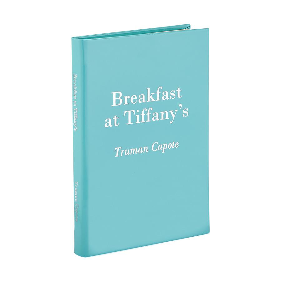 'Breakfast at Tiffanys & Three Stories' Leather Bound Book