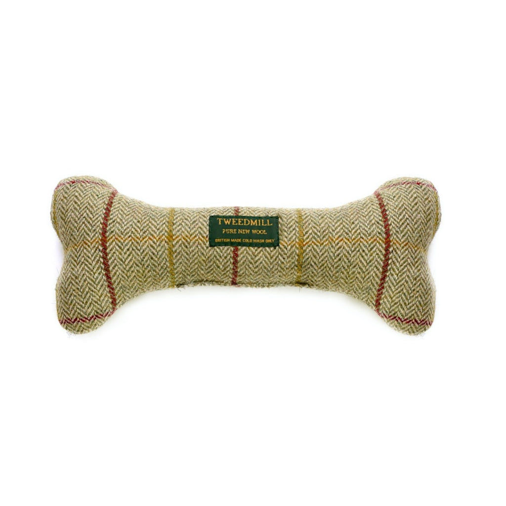 Tweed Dog Bone