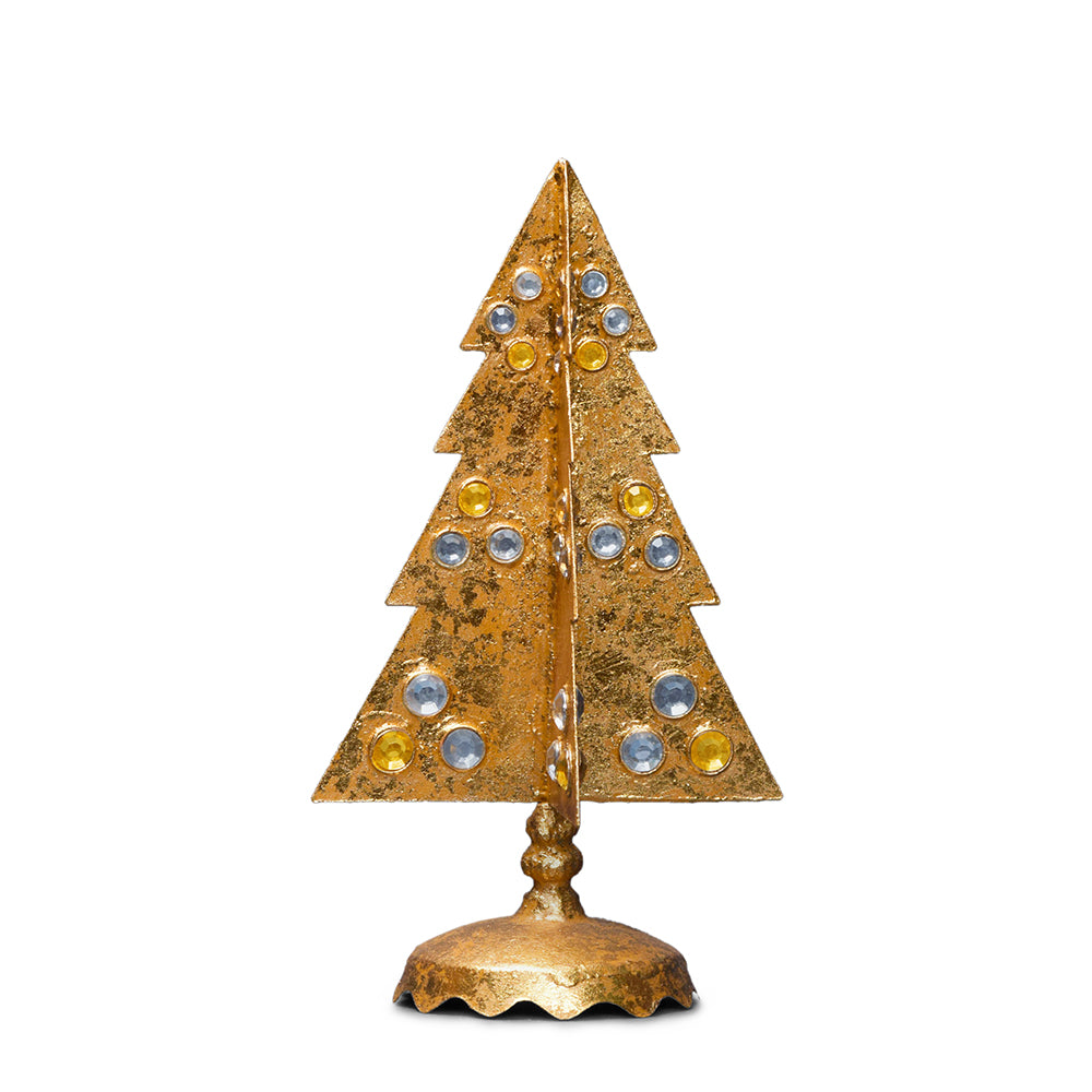 Gilt Tree with Gold & Silver, Short