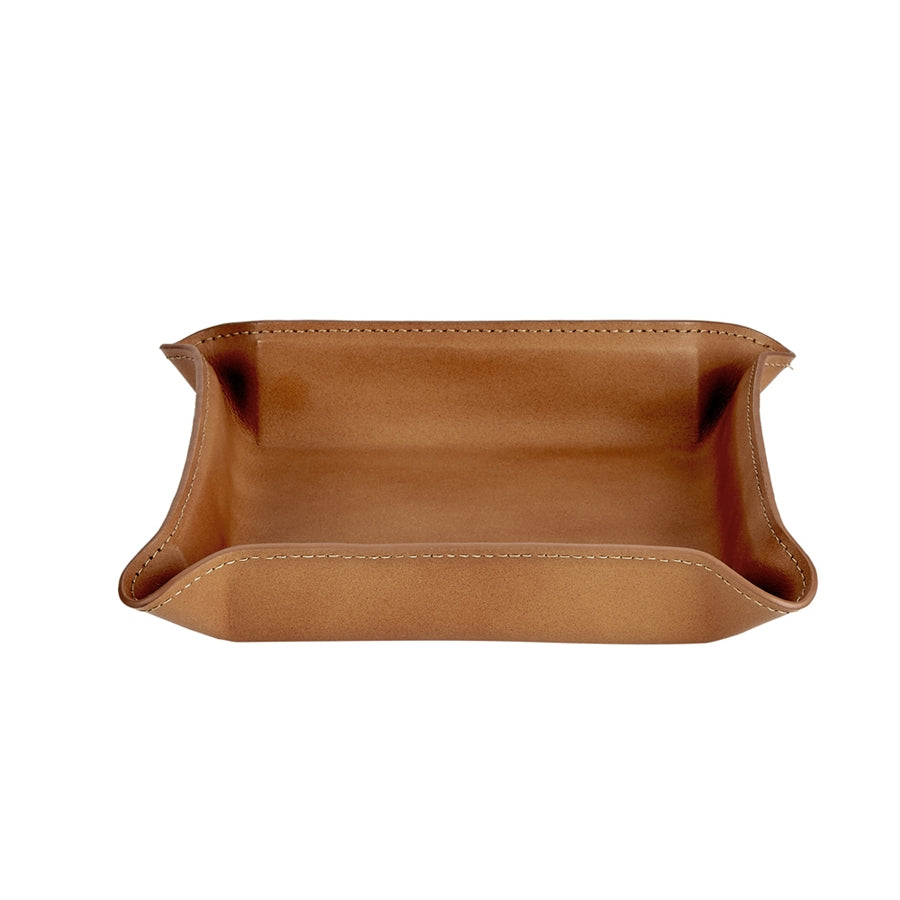 Moldable Leather Valet Tray