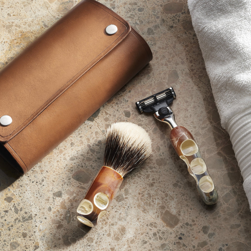 Théophile Caille Coquille Shaving Set