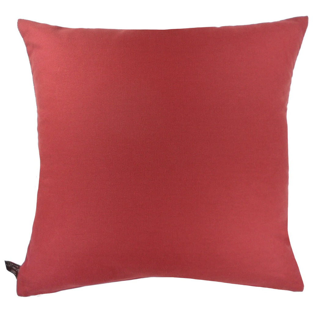 Giverny Iris Square Pillow