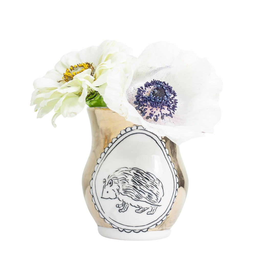 Hedgehog Medium Vase